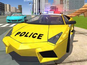 لعبة سيارة شرطة