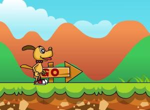 لعبة مغامرات كلب