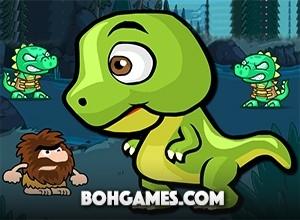 لعبة مغامرات و سرعة ديناصور دينو