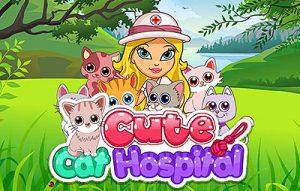 لعبة مستشفى القطط